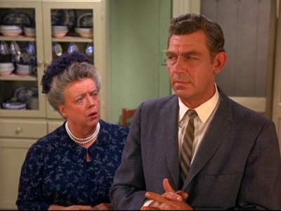 Andy and Aunt Bee