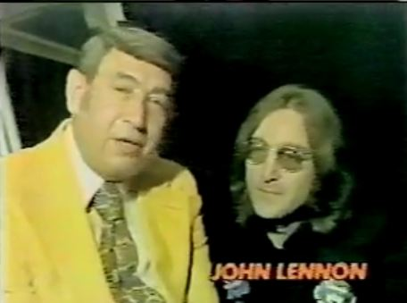 John Lennon Monday Night Football
