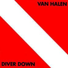 """Van Halen Diver Down """"jack monson"""""""