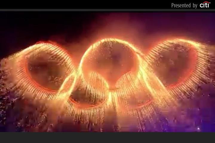 2012 Olympics Rings Opening Ceremony