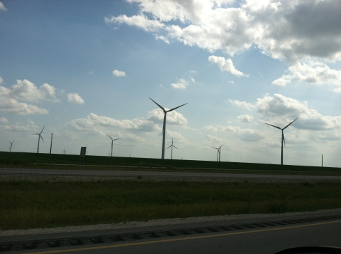 windmills, northern iowa, top of iowa