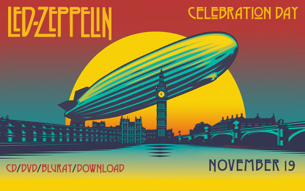 Led Zeppelin Celebration Day