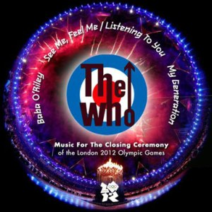 The Who Music for the Closing Ceremony