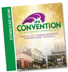 Click photo to download 2014 IFA Convention brochure