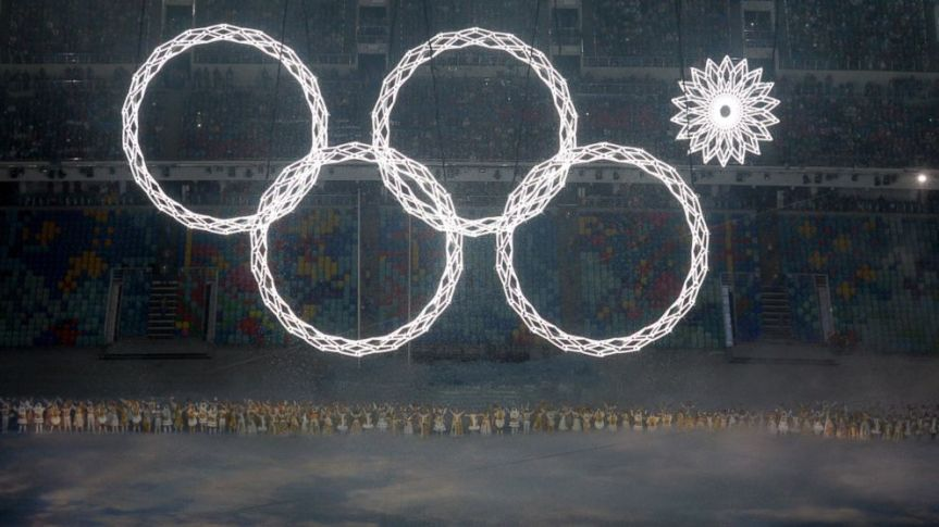 Olympic Rings Sochi