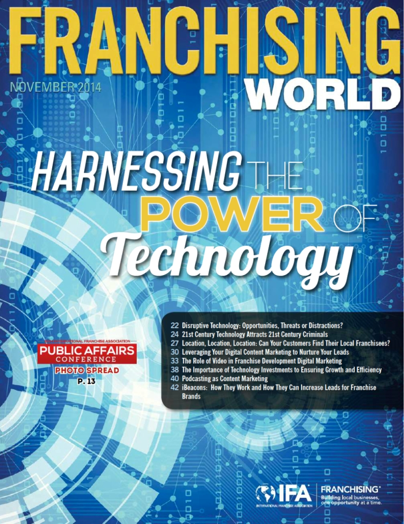Franchising World Cover