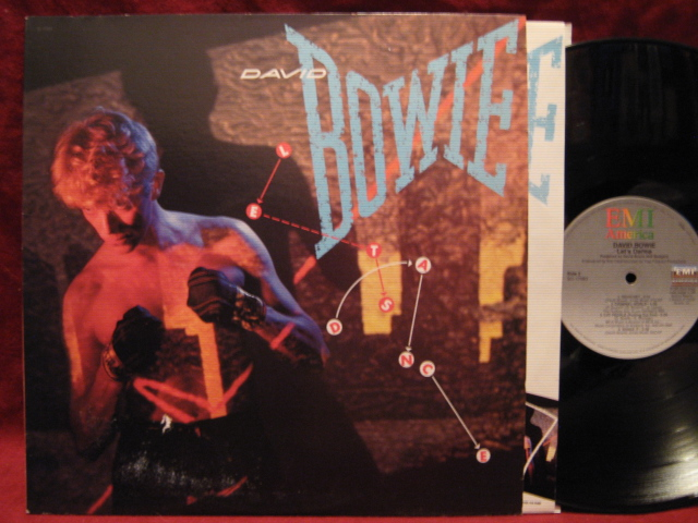 DAVID BOWIE Lets Dance LP Vinyl Record Album