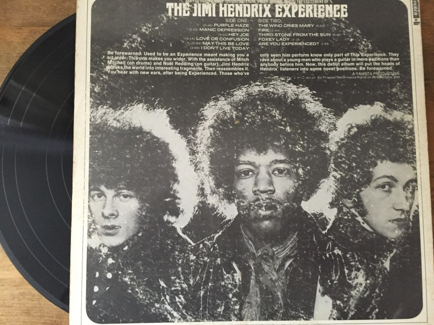 Are You Experienced Back