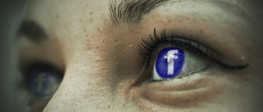 Facebook log eyes