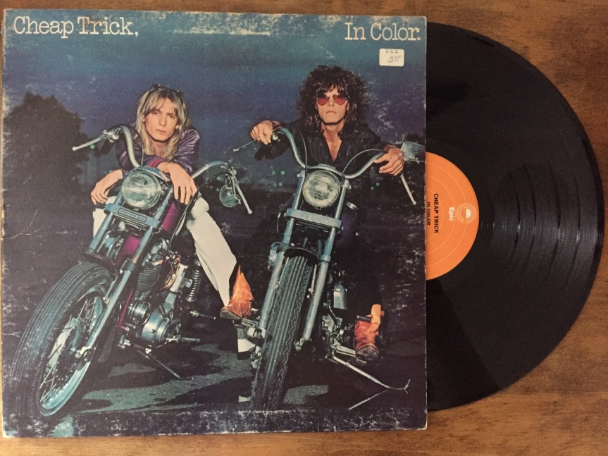 Cheap Trick In Color Album Cover