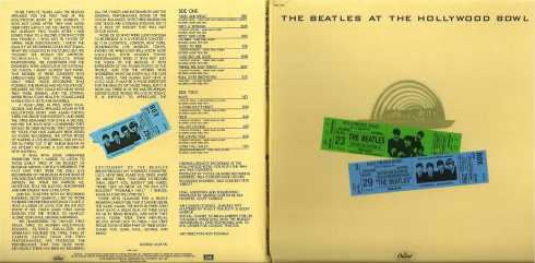 the beatles at the hollywood bowl