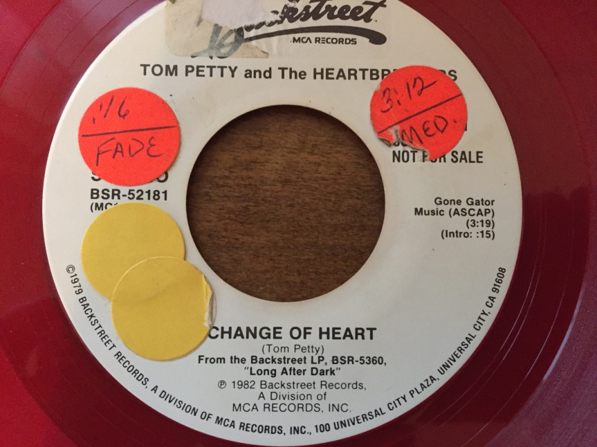 Tom Petty Change of Heart