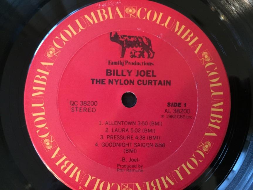 Billy Joel The Nylon Curtain