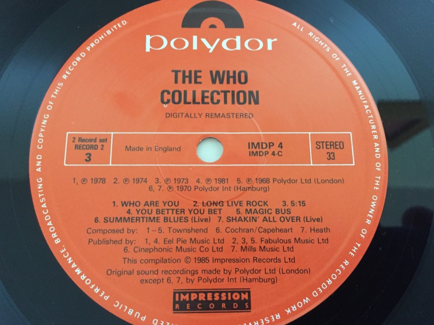 The Who Collection