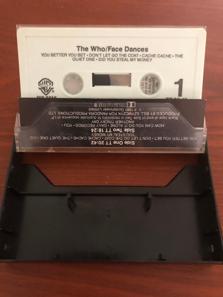 The Who Face Dances